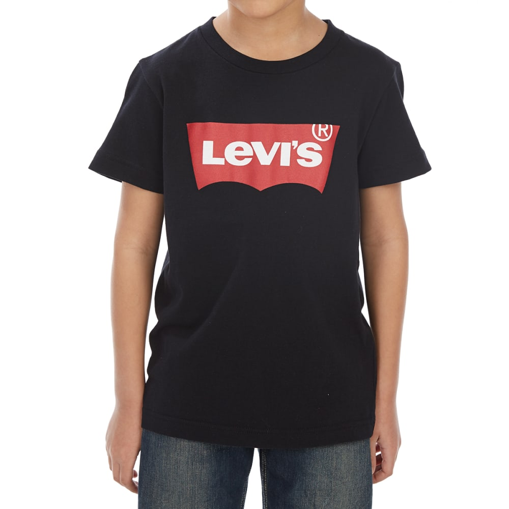 LEVI'S Toddler Boys' Batwing Short-Sleeve Tee - BLACK-023