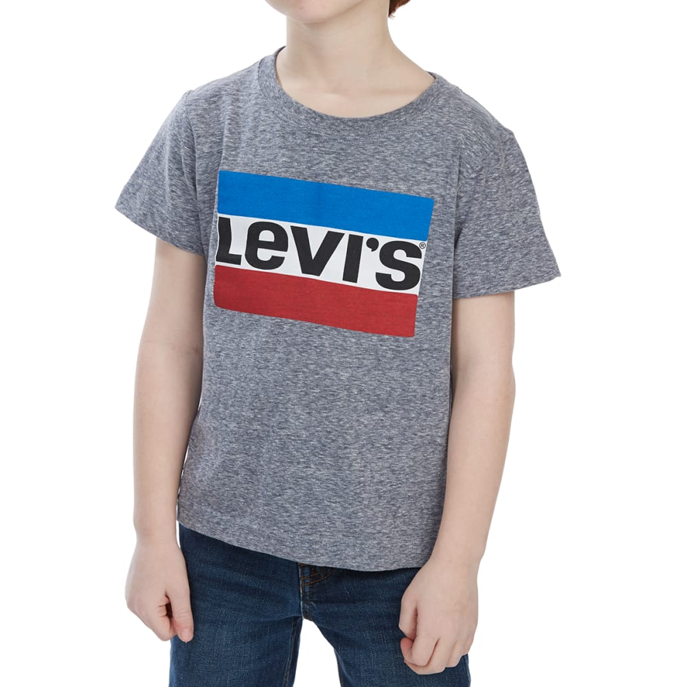 Levi's Little Boys' Graphic Short-Sleeve Tee - Blue, 4