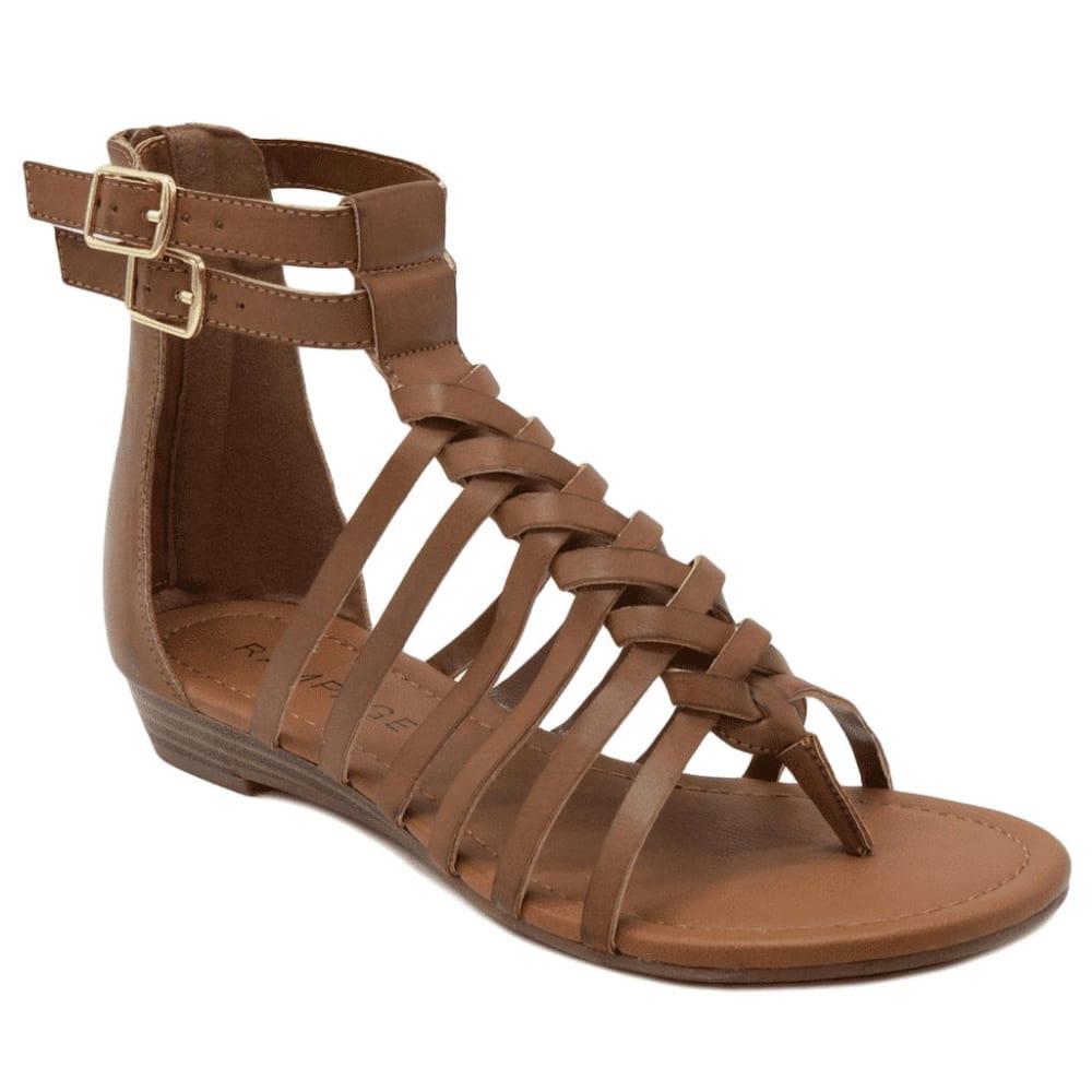 RAMPAGE Women's Santorini Sandals - COGNAC