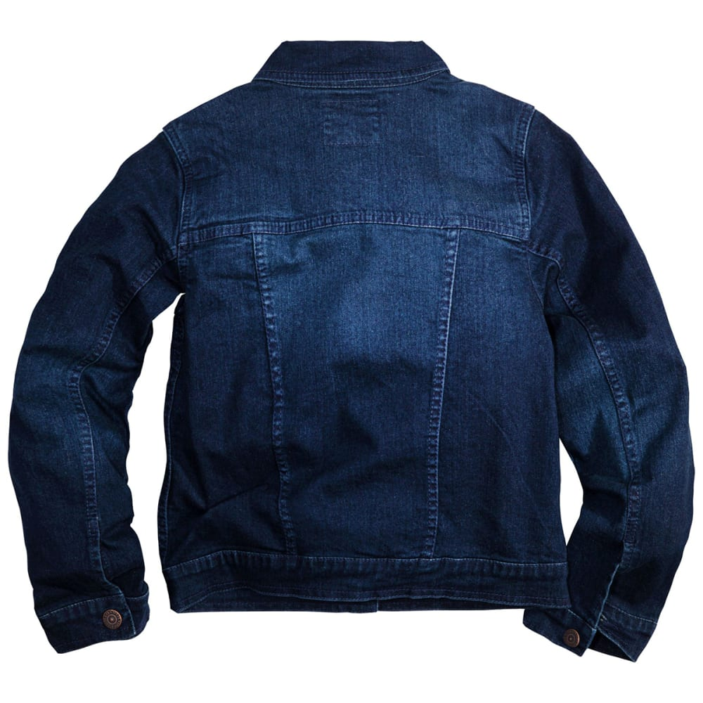 LEVI'S Big Girls' Trucker Jacket - TAILORED INDIGO-D26