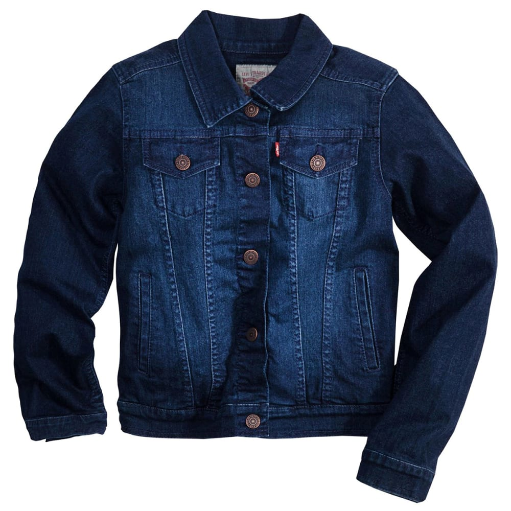 LEVI'S Big Girls' Trucker Jacket S