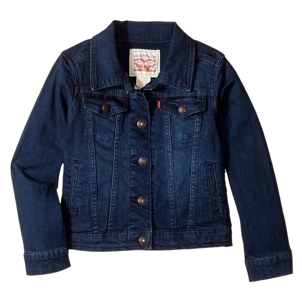 LEVI'S Little Girls' Trucker Jacket - TAILORED INDIGO-D26