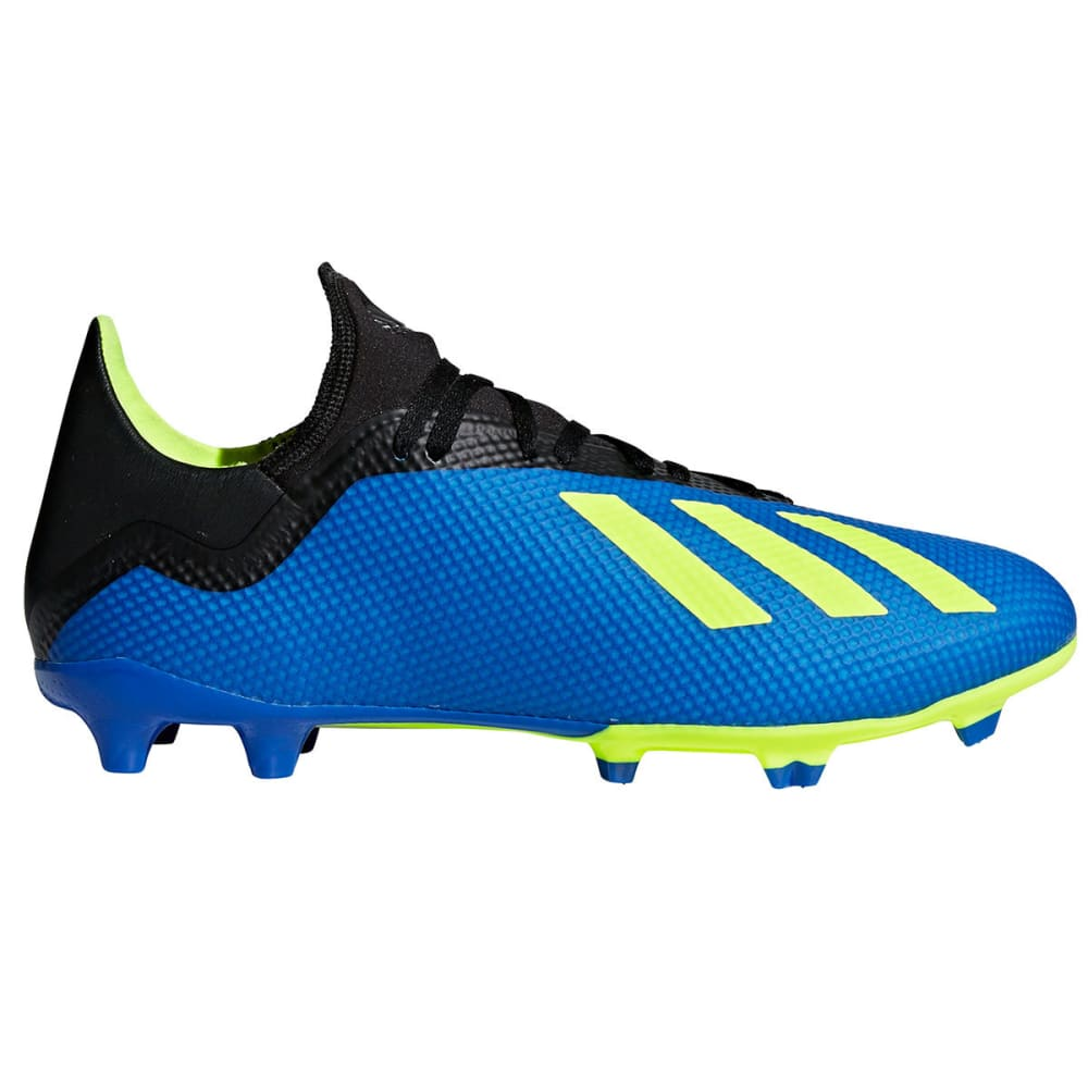 ADIDAS Men's X 18.3 Firm Ground Soccer Cleats - ROYAL BLUE
