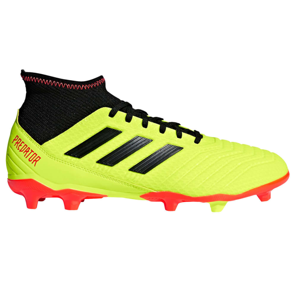 ADIDAS Men's Predator 18.3 Firm Ground Soccer Cleats - YELLOW