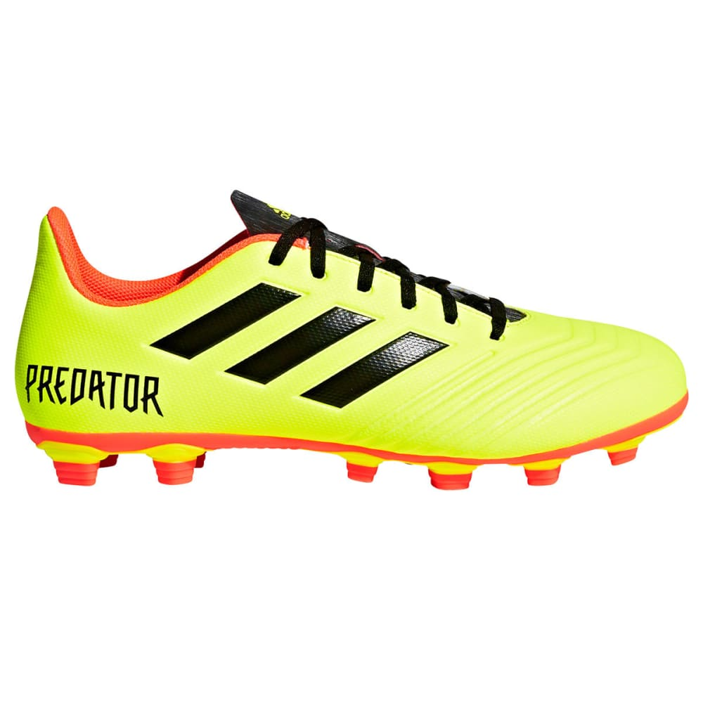 ADIDAS Men's Predator 18.4 Flexible Ground Soccer Cleats - YELLOW