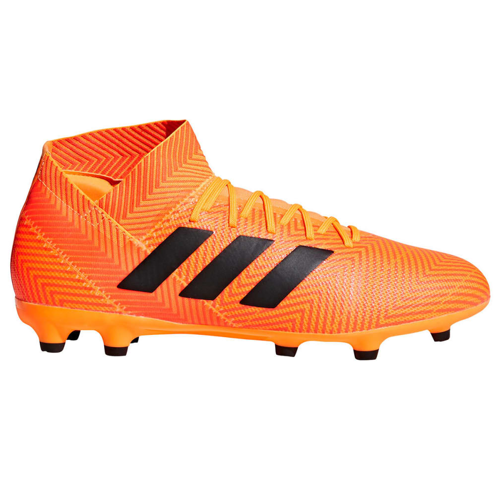 ADIDAS Men's Nemeziz 18.3 Firm Ground Soccer Cleats - ORANGE
