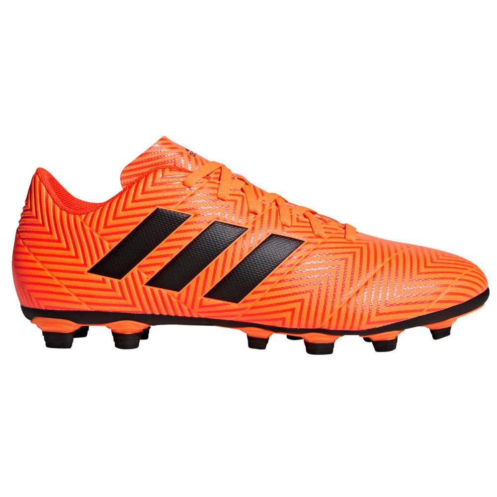 ADIDAS Men's Nemeziz 18.4 Flexible Ground Soccer Cleats - ORANGE