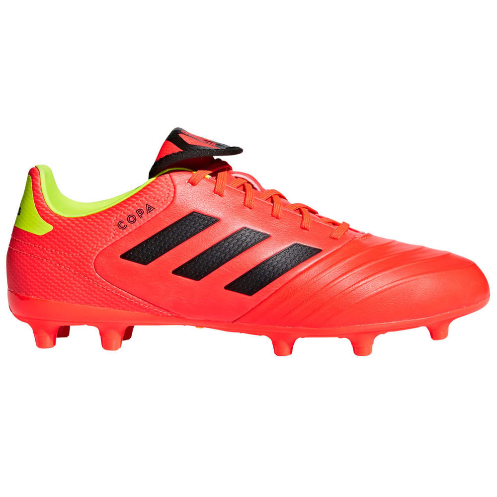 ADIDAS Men's Copa 18.3 Firm Ground Soccer Cleats - SOLAR RED
