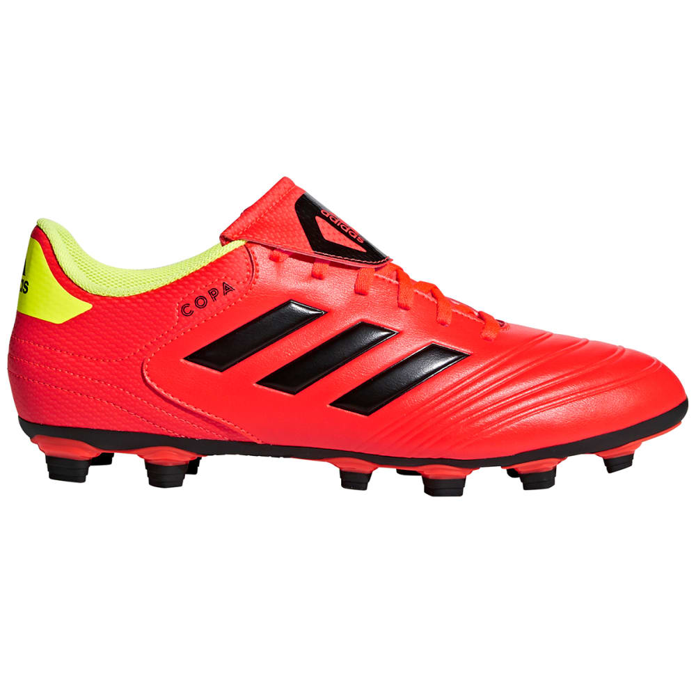 ADIDAS Men's Copa 18.4 FG Soccer Cleats - SOLAR RED