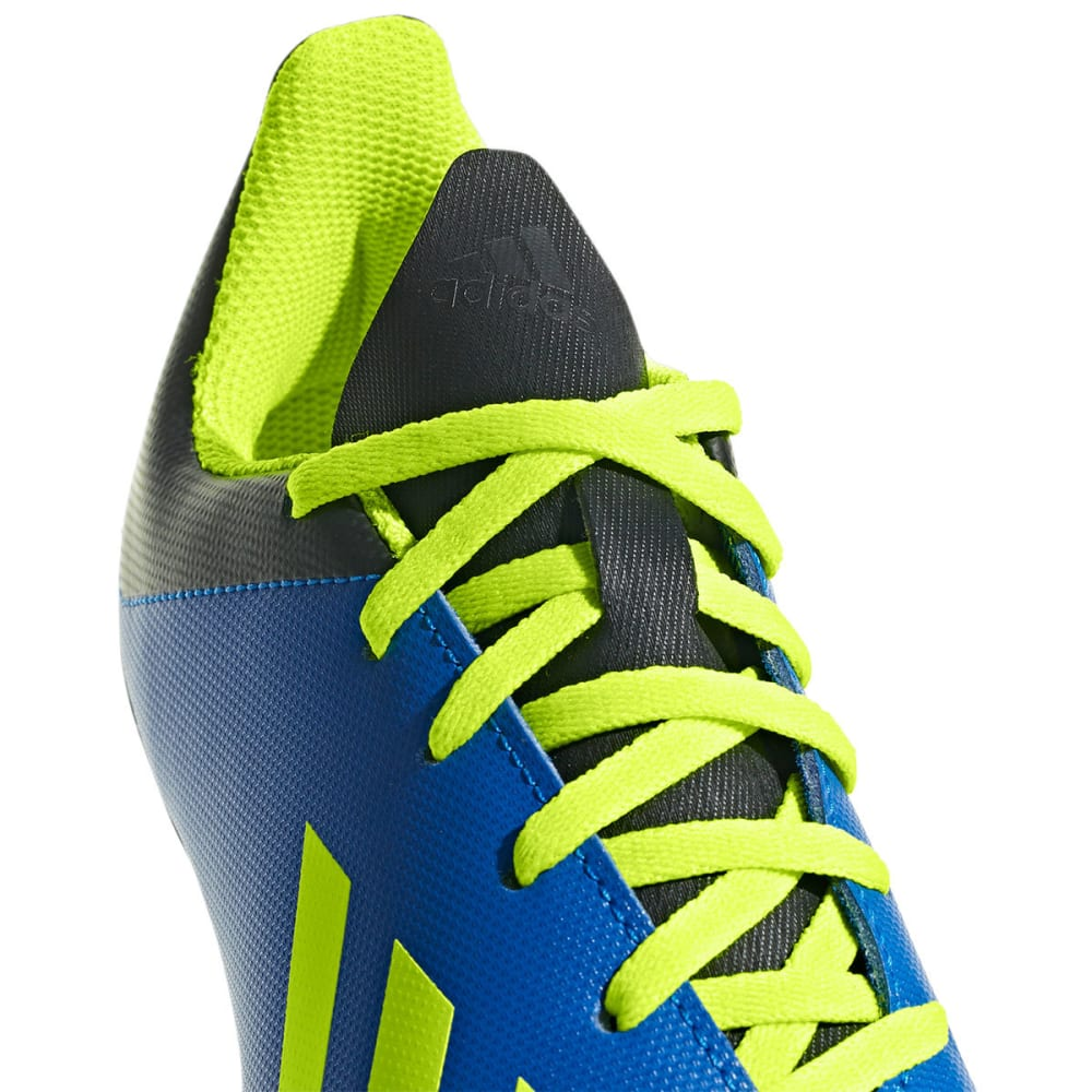 ADIDAS Big Kids' X 18.4 Firm Ground Soccer Cleats - ROYAL BLUE