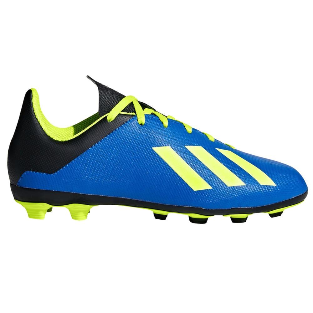 ADIDAS Big Boys' X 18.4 Firm Ground Soccer Cleats - ROYAL BLUE