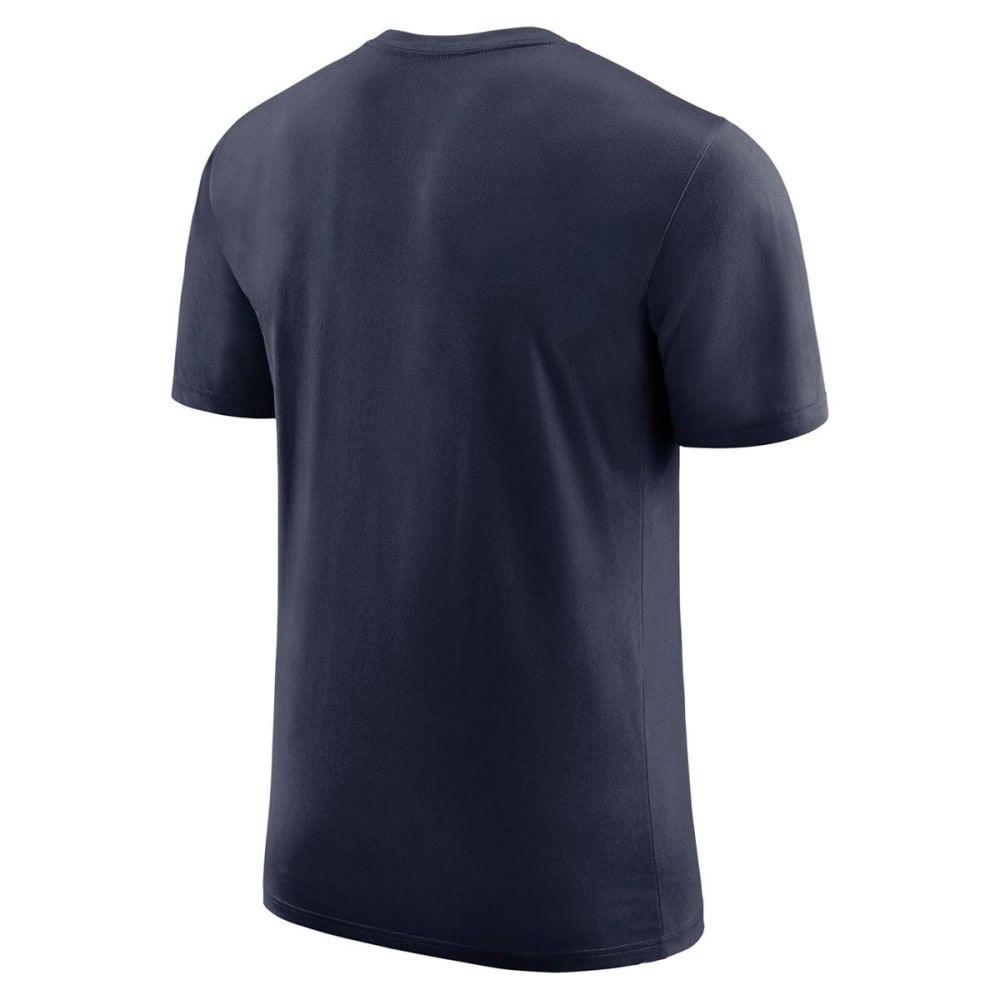 NIKE Men's UConn Dri-FIT Wordmark Short-Sleeve Tee - NAVY