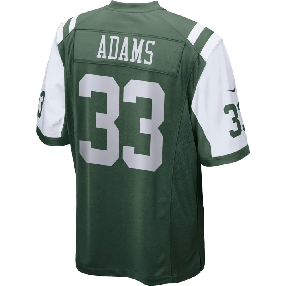 NIKE Men's New York Jets Jamal Adams Game Jersey - GREEN