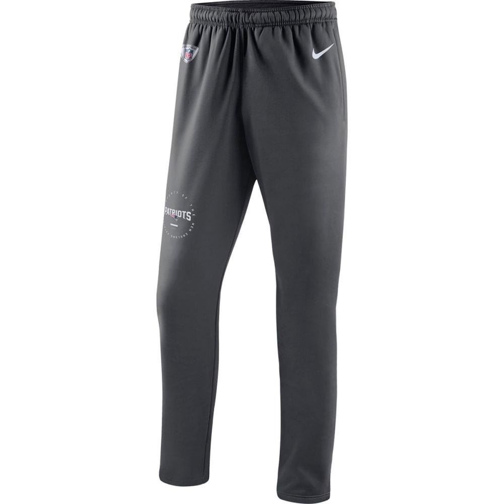 NIKE Men's New England Patriots Therma Pants - GREY