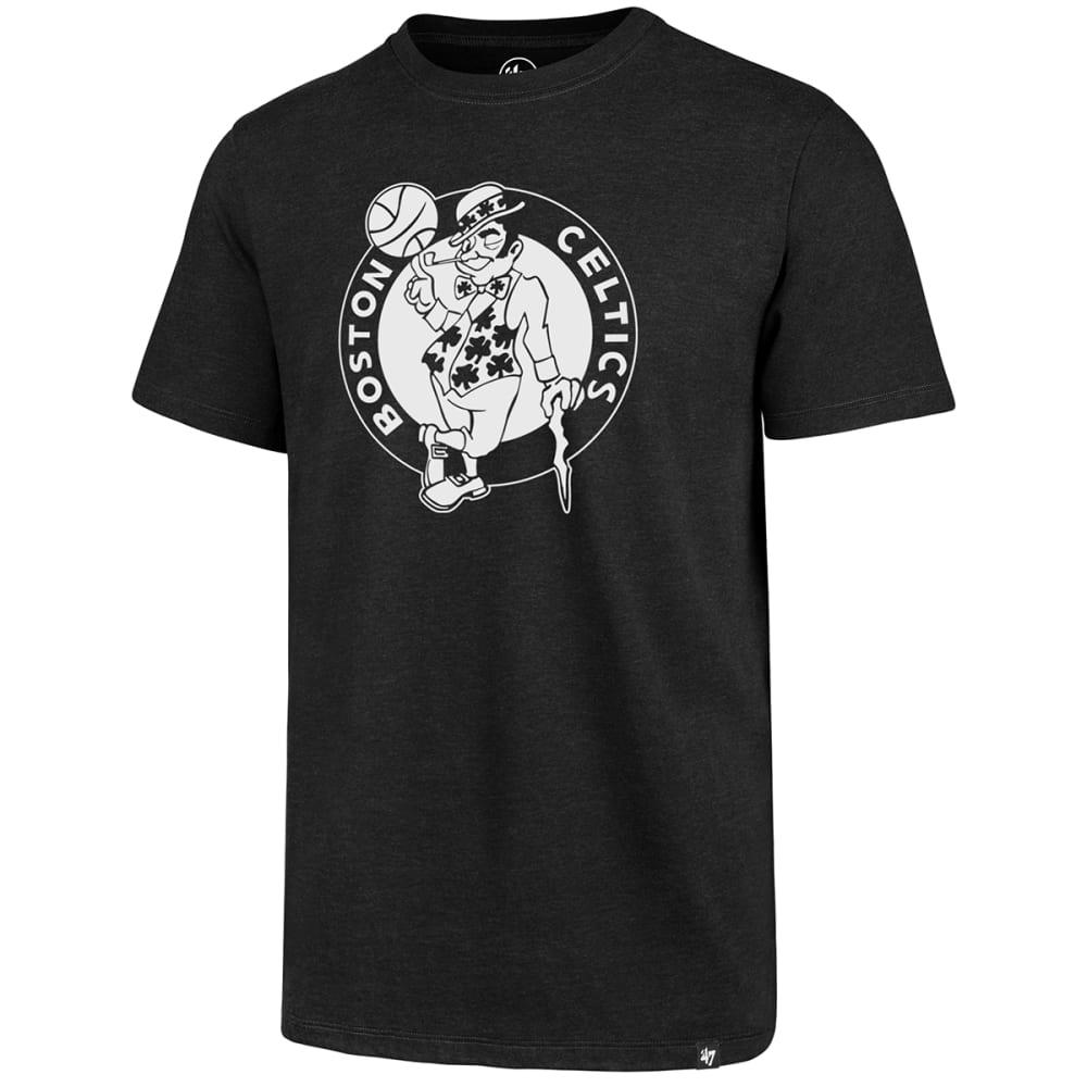 BOSTON CELTICS Men's Logo Man '47 Club Short-Sleeve Tee S