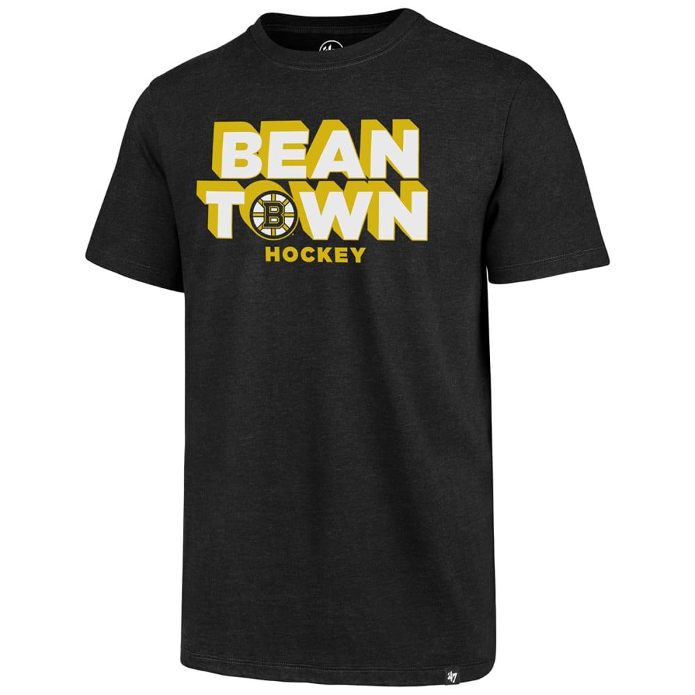 BOSTON BRUINS Men's Beantown Hockey '47 Club Short-Sleeve Tee M