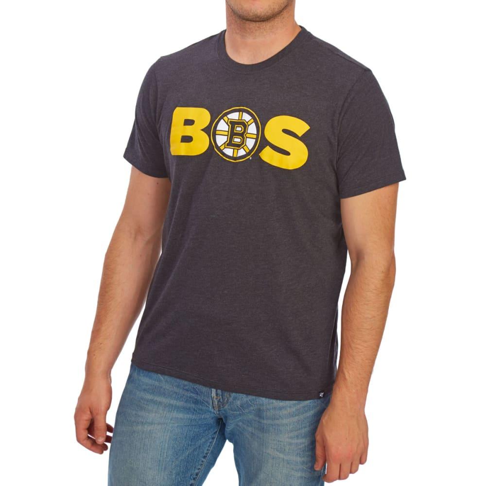 BOSTON BRUINS Men's BOS '47 Club Short-Sleeve Tee - BLACK