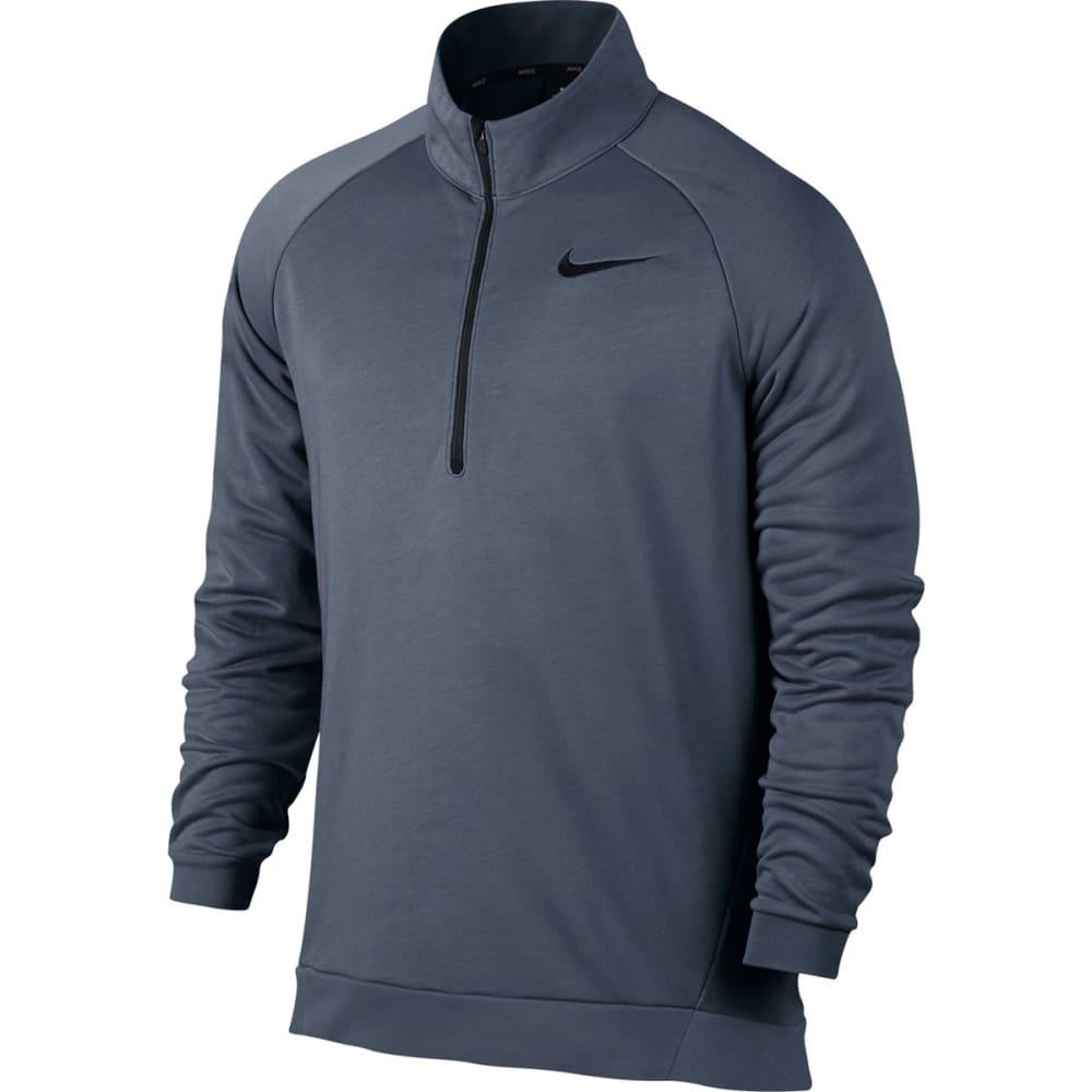 NIKE Men's Long-Sleeve Quarter Zip Dry Training Top S