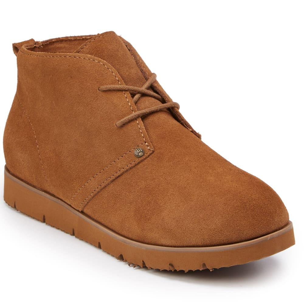 BEARPAW Women's Chaz Lace-Up Chukka Boots - HICKORY SUEDE-220