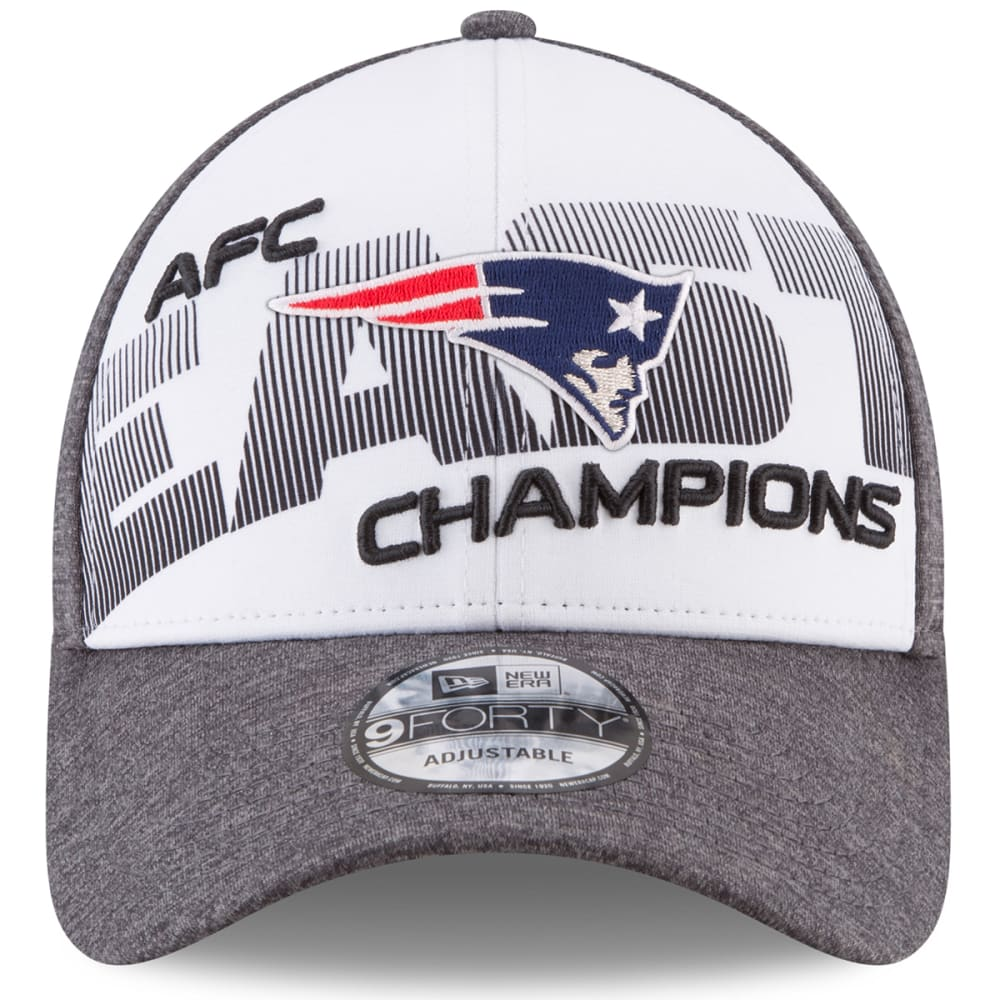 NEW ENGLAND PATRIOTS 2017 AFC East Division Champions 9Forty Adjustable Cap - GREY