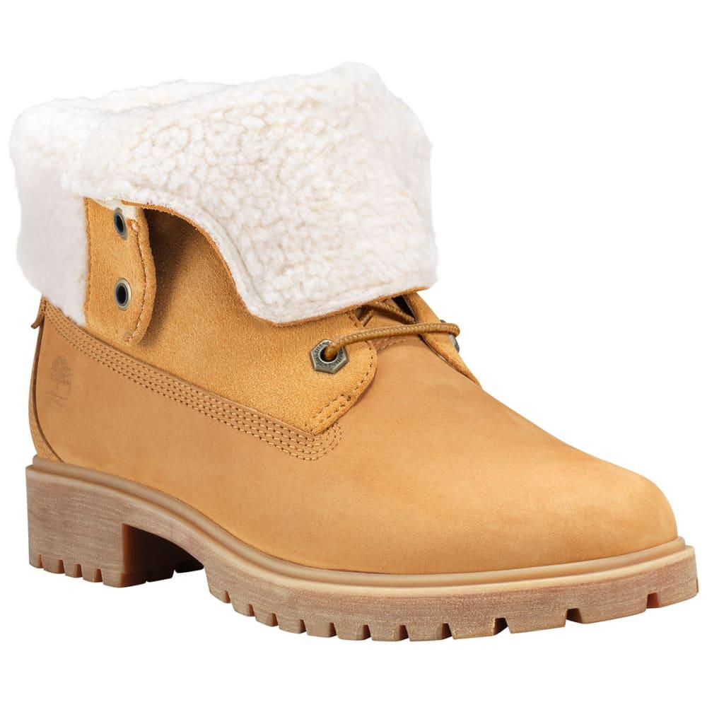 TIMBERLAND Women's Jayne Fold-Down Waterproof Boots - WHEAT-TB0A1SGA231