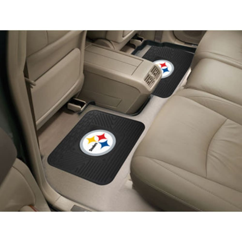 PITTSBURGH STEELERS Utility Mats, Set of 2 ONE SIZE