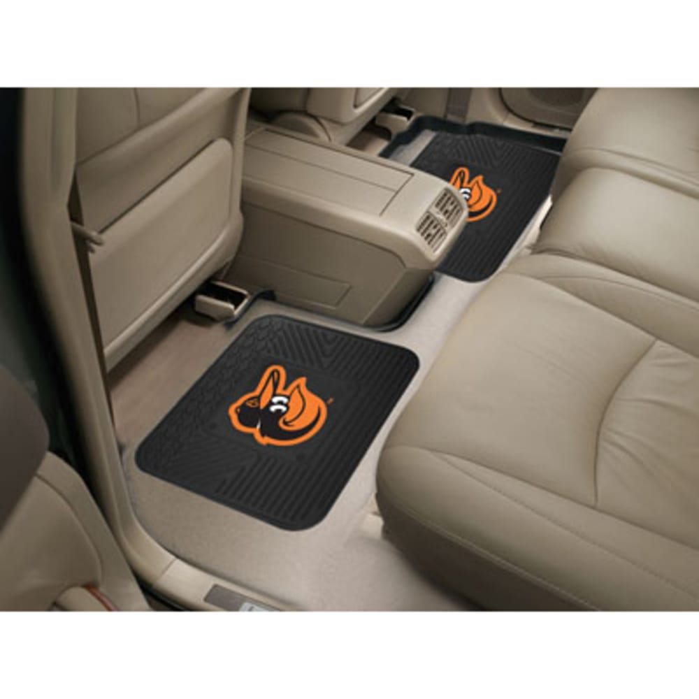 FAN MATS MLB Baltimore Orioles 2-Piece Utility Mat Set ONE SIZE
