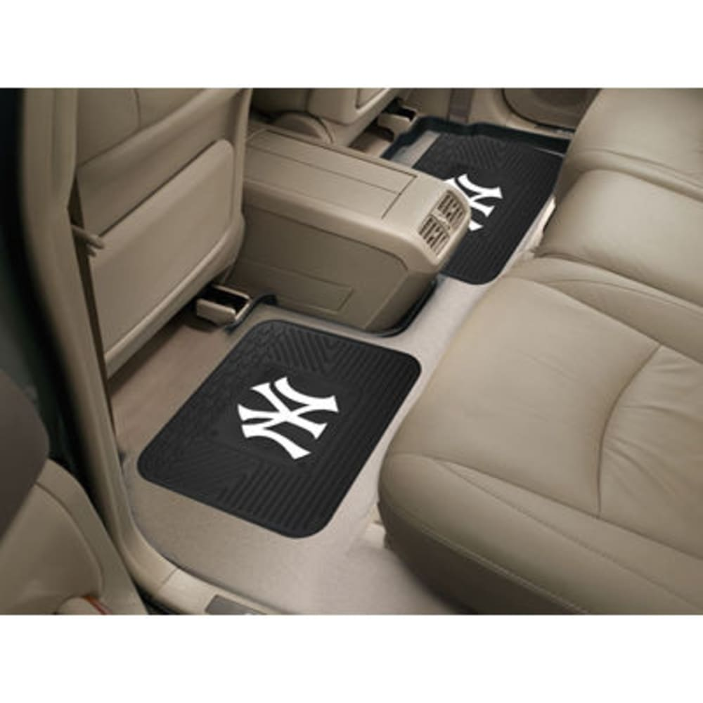 NEW YORK YANKEES Utility Mats, Set of 2 ONE SIZE