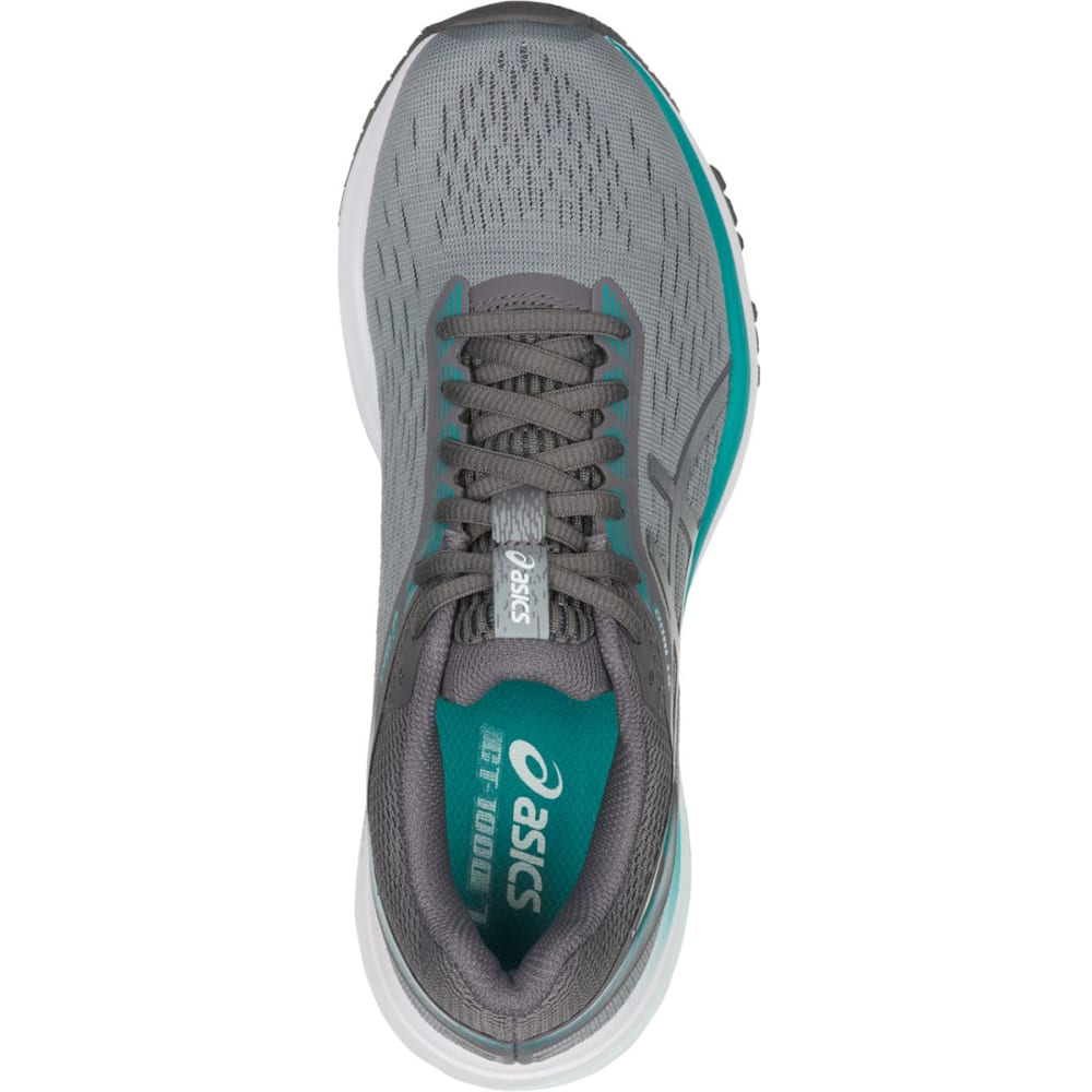 ASICS Women's GT-1000 7 Running Shoes - GREY/CARBON-020