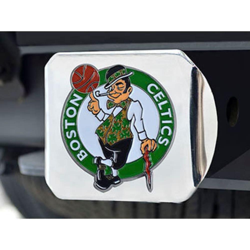 FAN MATS Boston Celtics Color Hitch Cover - CHROME