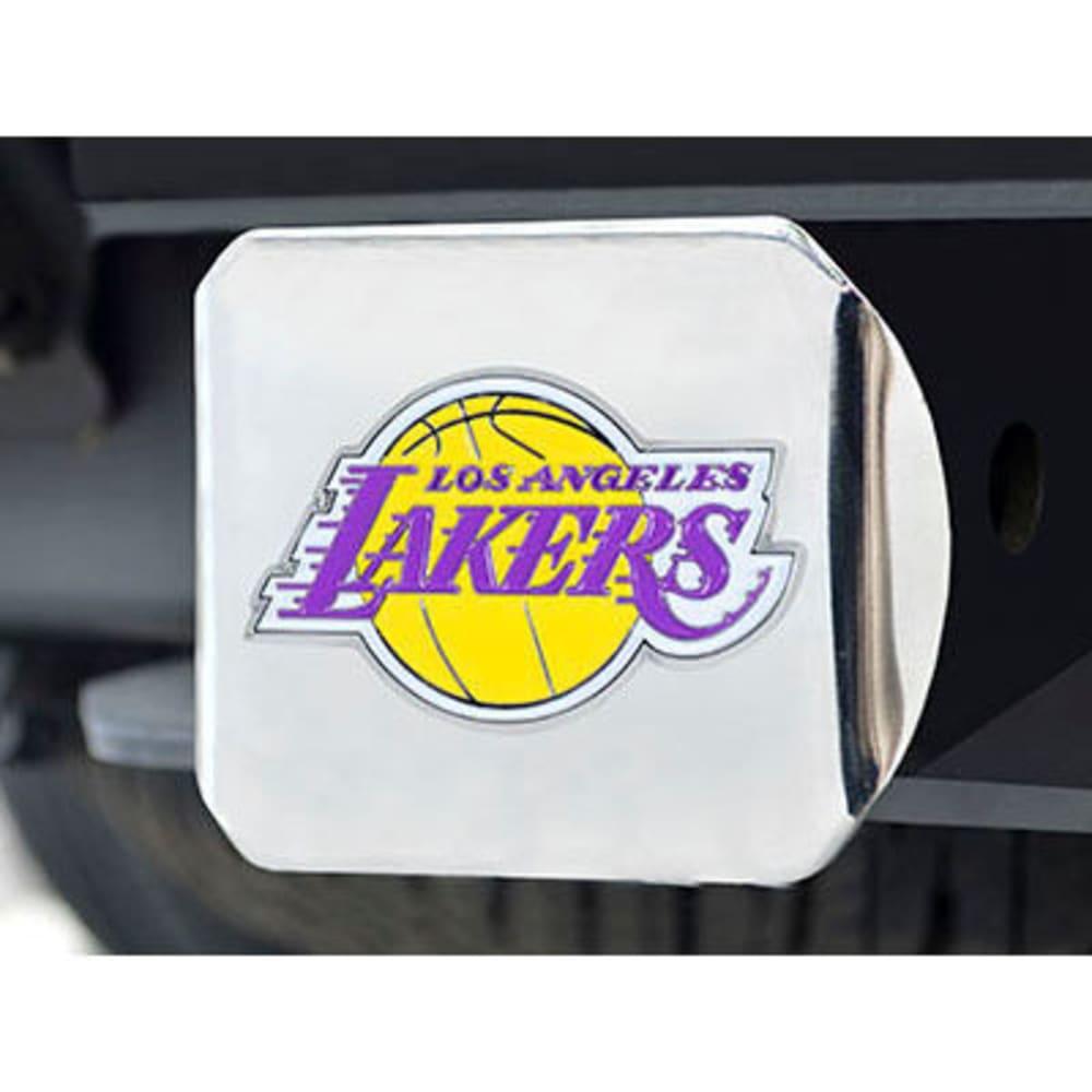 FAN MATS Los Angeles Lakers Color Hitch Cover - CHROME