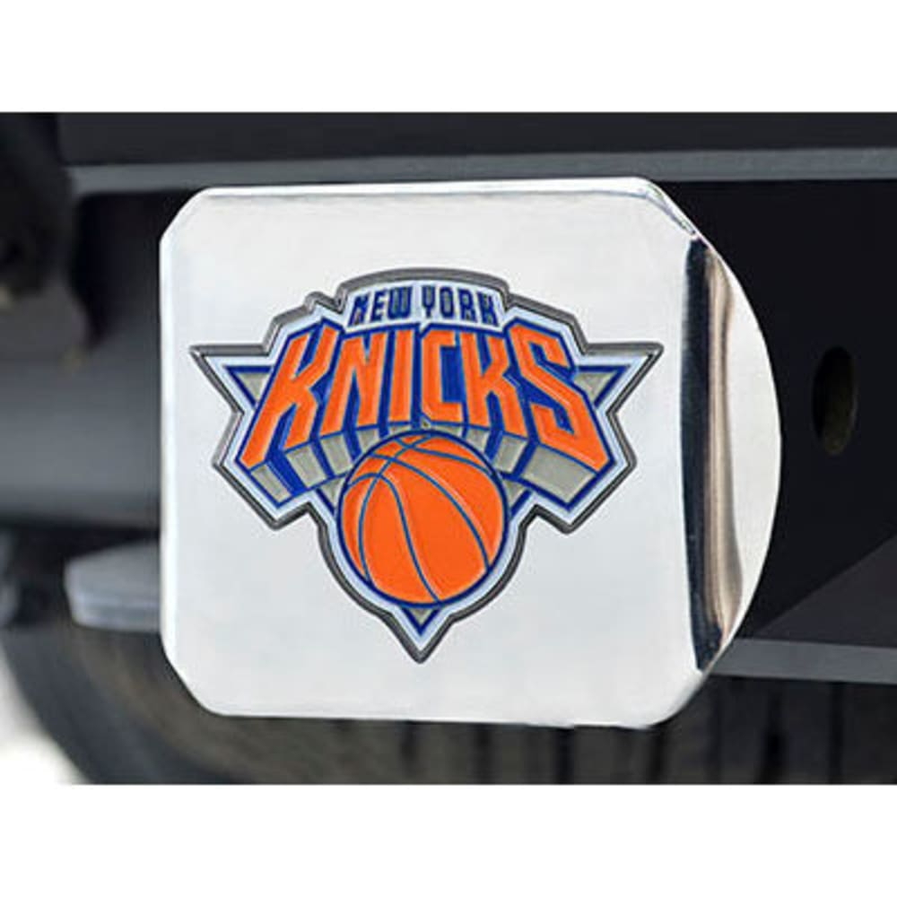 FAN MATS New York Knicks Color Hitch Cover - CHROME