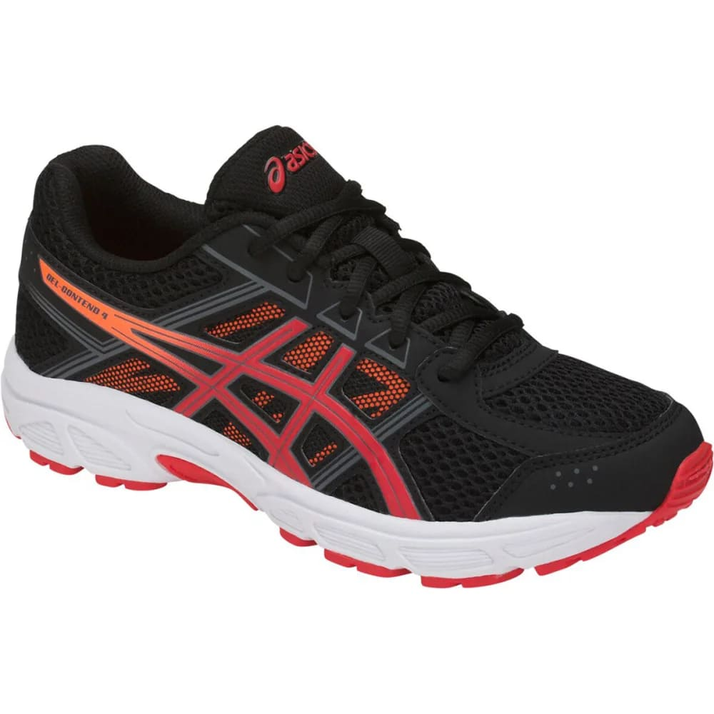 ASICS Big Boys' Grade School GEL-Contend 4 Running Shoes - BLACK - 002