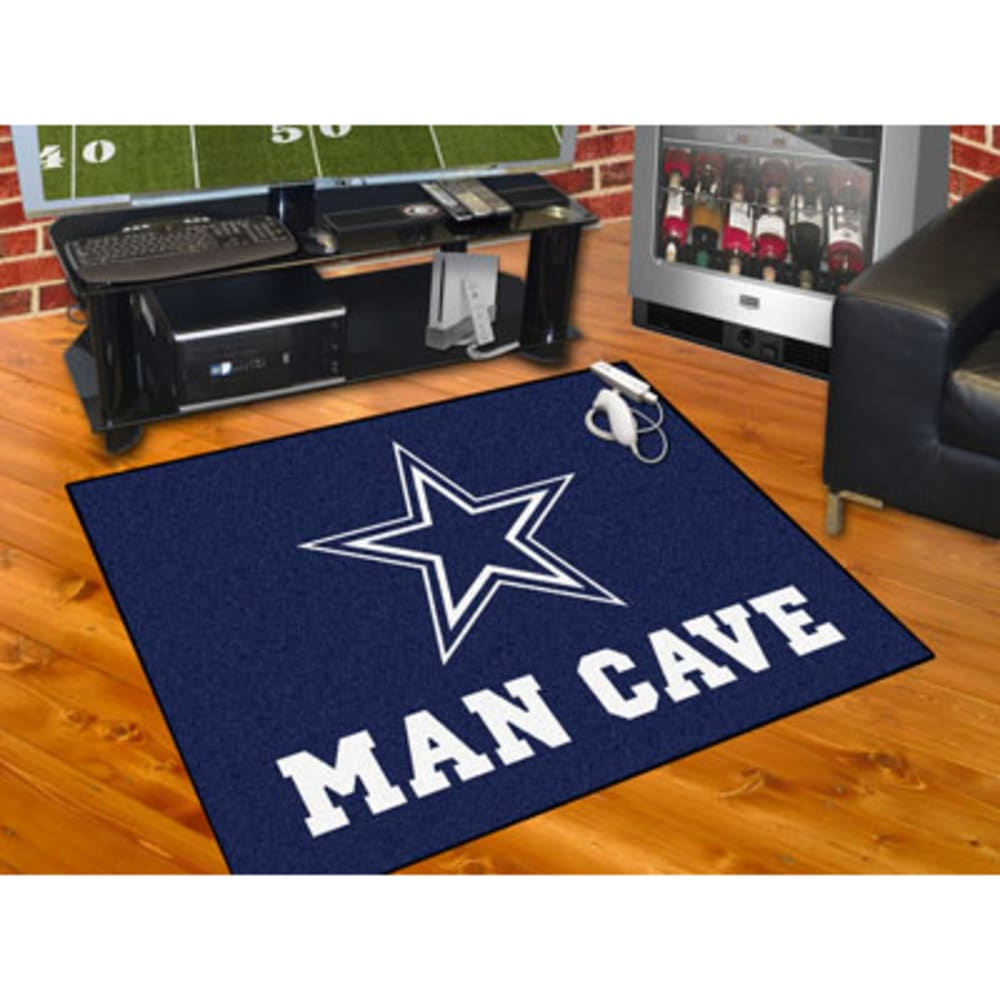 FANMATS NFL Dallas Cowboys Man Cave All Star Mat ONE SIZE