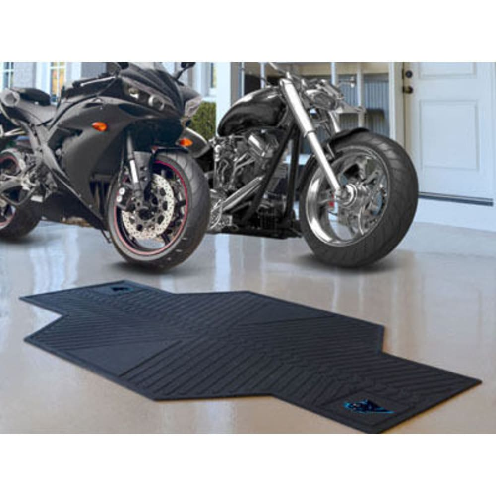 Fan Mats Carolina Panthers Motorcycle Mat, Black
