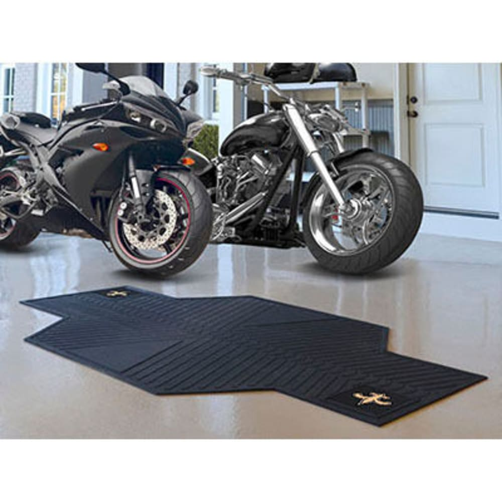 Fan Mats New Orleans Saints Motorcycle Mat, Black