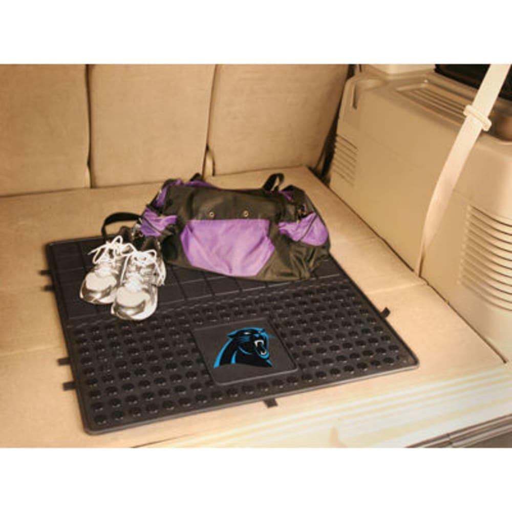 FAN MATS Carolina Panthers Heavy Duty Vinyl Cargo Mat, Black - BLACK