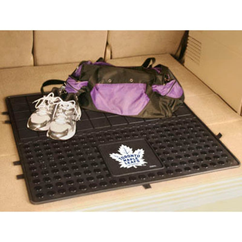 FAN MATS Toronto Maple Leafs Heavy Duty Vinyl Cargo Mat, Black - BLACK