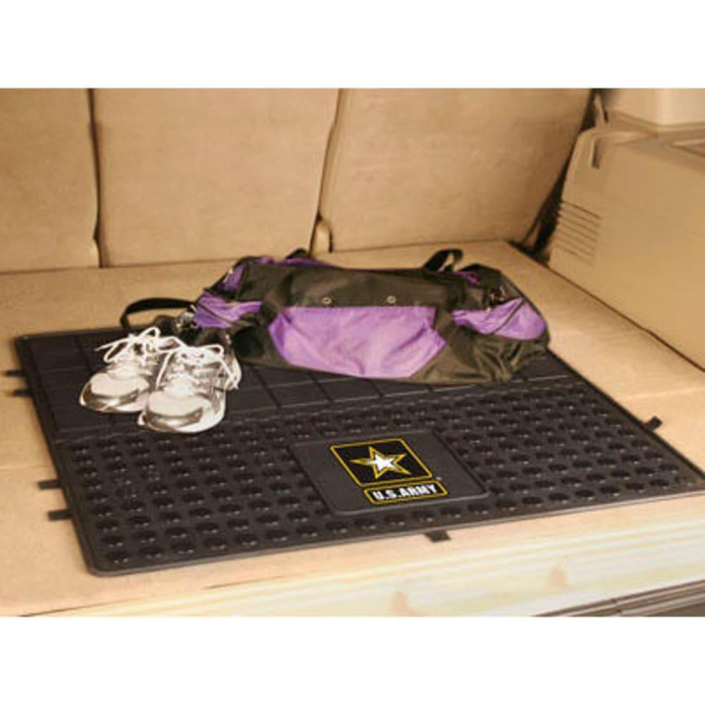 FAN MATS U.S. Army Heavy Duty Vinyl Cargo Mat, Black - BLACK