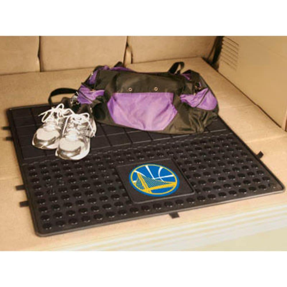 FAN MATS Golden State Warriors Heavy Duty Vinyl Cargo Mat, Black ONE SIZE