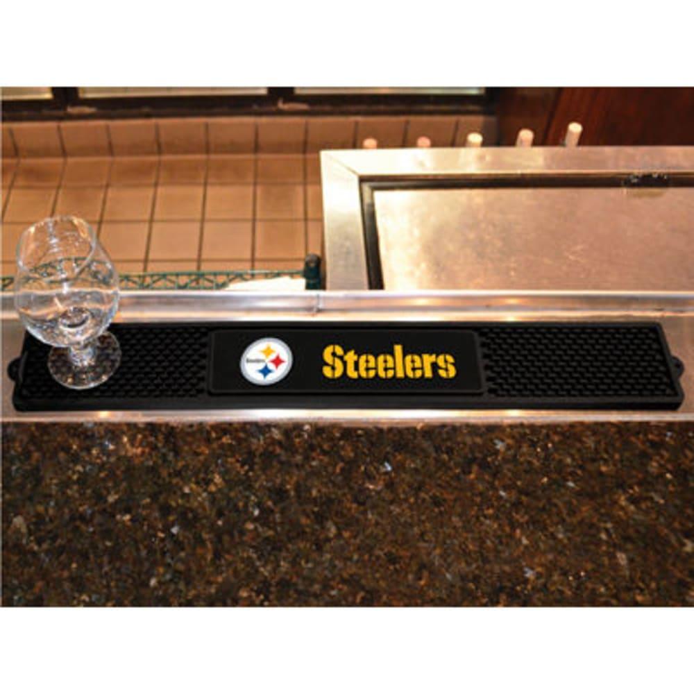Fan Mats Pittsburgh Steelers Drink Mat, Black