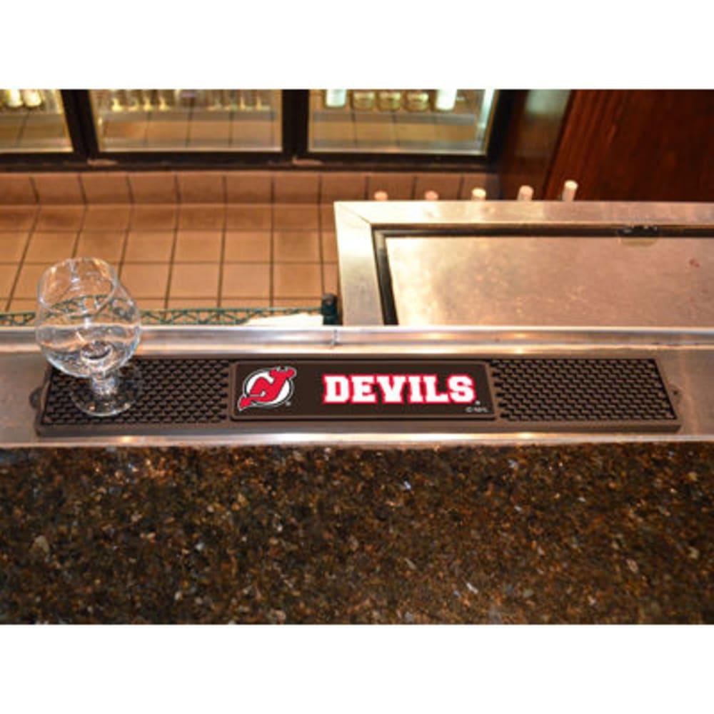 FAN MATS New Jersey Devils Drink Mat, Black ONE SIZE