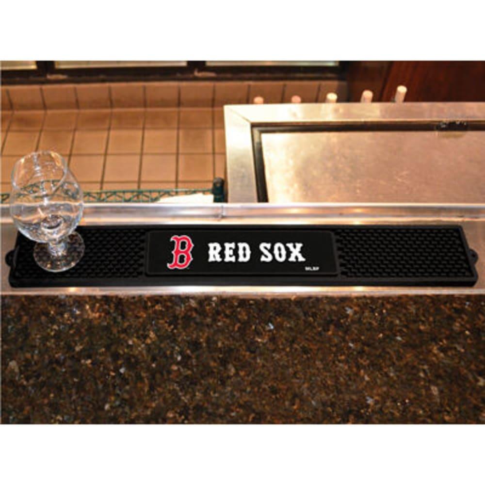 FAN MATS Boston Red Sox Drink Mat, Black ONE SIZE
