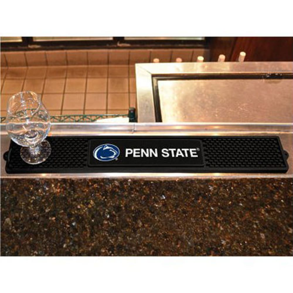 FAN MATS Penn State Drink Mat, Black ONE SIZE