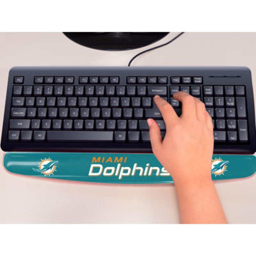 FAN MATS Miami Dolphins Gel Wrist Rest, Aqua - AQUA