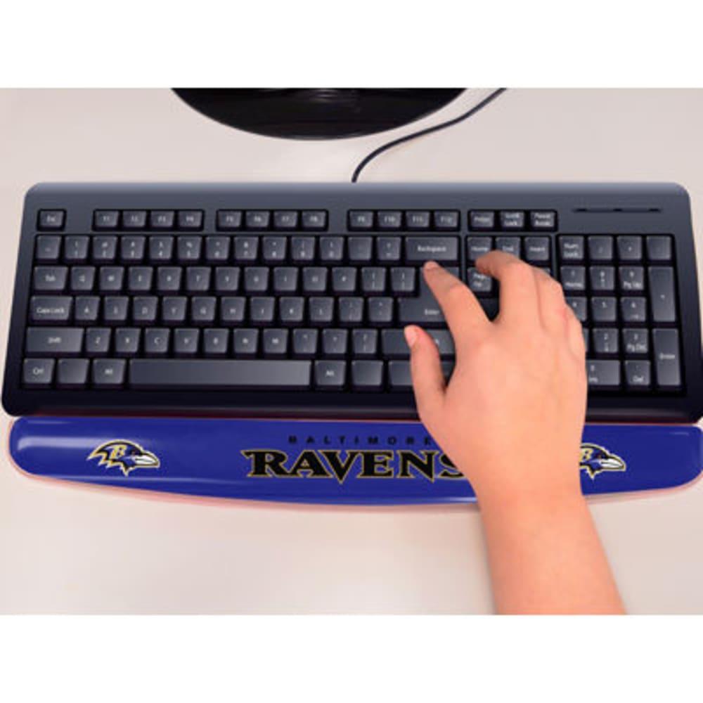 FAN MATS Baltimore Ravens Gel Wrist Rest, Purple/Black ONE SIZE