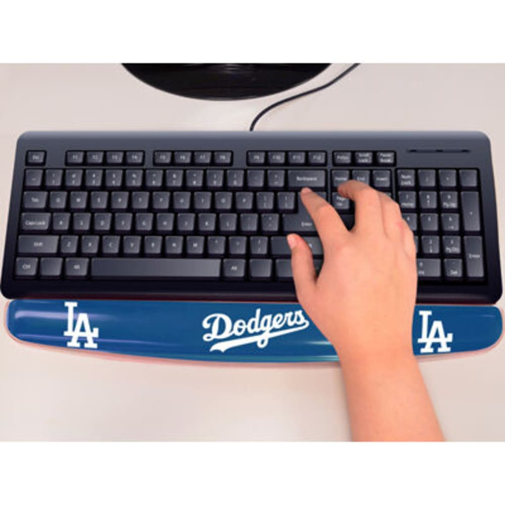 FAN MATS Los Angeles Dodgers Gel Wrist Rest, Blue/White - BLUE/WHITE