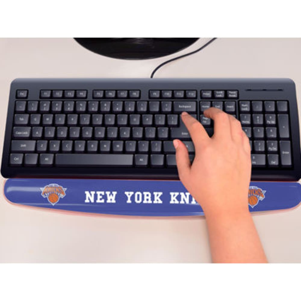 FAN MATS New York Knicks Gel Wrist Rest, Blue ONE SIZE