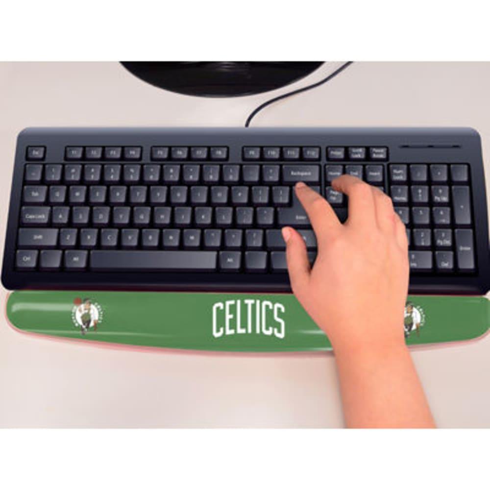 FAN MATS Boston Celtics Gel Wrist Rest, Green/White - GREEN/WHITE