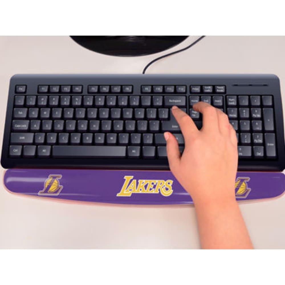 FAN MATS Los Angeles Lakers Gel Wrist Rest, Purple/Yellow - PURPLE/YELLOW